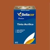 Tinta Acrílica Semi-Brilho C85 Doce de Laranja 16L Bellacor