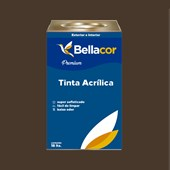 Tinta Acrílica Semi-Brilho C97 Marrom Contemporâneo 16L Bellacor