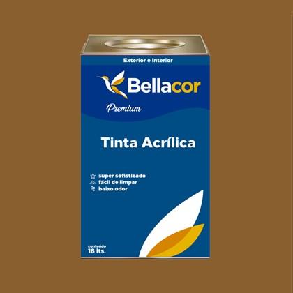 Tinta Acrílica Semi-Brilho C99 Marrom Antigo 16L Bellacor
