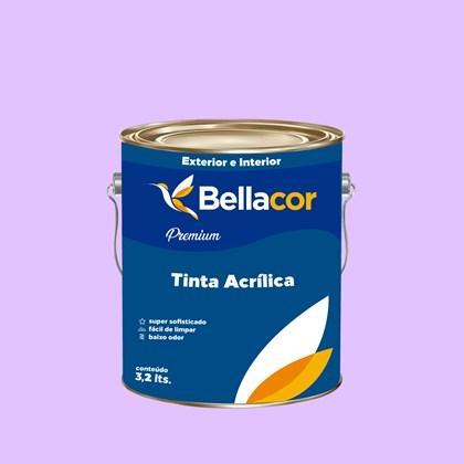 Tinta Acrílica Semi-Brilho Premium A11 Creme de Uva 3,2L Bellacor
