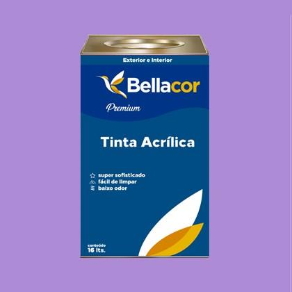 Tinta Acrílica Semi-Brilho Premium A12 Lavanda 16L Bellacor