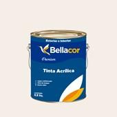 Tinta Acrílica Semi-Brilho Premium A17 Creme de Leite 3,2L Bellacor