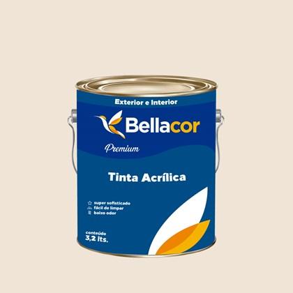 Tinta Acrílica Semi-Brilho Premium A20 Aveia e Mel 3,2L Bellacor