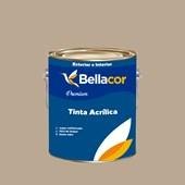 Tinta Acrílica Semi-Brilho Premium A21 Pêssego Rosa 3,2L Bellacor