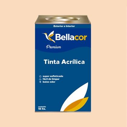 Tinta Acrílica Semi-Brilho Premium A23 Toque de Mel 16L Bellacor