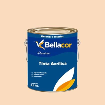 Tinta Acrílica Semi-Brilho Premium A23 Toque de Mel 3,2L Bellacor