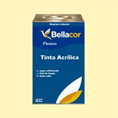 Tinta Acrílica Semi-Brilho Premium A29 Bege 16L Bellacor