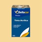 Tinta Acrílica Semi-Brilho Premium A30 Amarelo 16L Bellacor