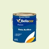 Tinta Acrílica Semi-Brilho Premium A32 Verde Noronha 3,2L Bellacor