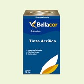 Tinta Acrílica Semi-Brilho Premium A36 Verde Amizade 16L Bellacor
