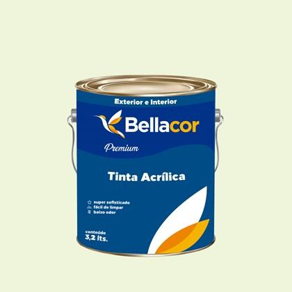Tinta Acrílica Semi-Brilho Premium A36 Verde Amizade 3,2L Bellacor