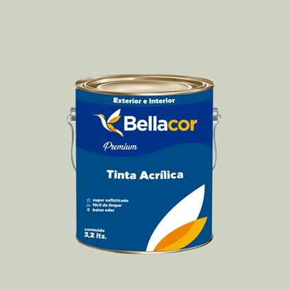 Tinta Acrílica Semi-Brilho Premium A48 Verde Água 3,2L Bellacor