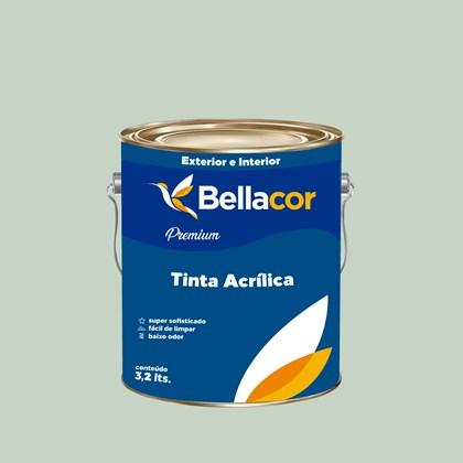 Tinta Acrílica Semi-Brilho Premium A72 Verde Alpinista 3,2L Bellacor