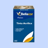 Tinta Acrílica Semi-Brilho Premium A89 Azul Citrino 16L Bellacor