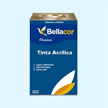 Tinta Acrílica Semi-Brilho Premium A91 Sopro Do Inverno 16L Bellacor