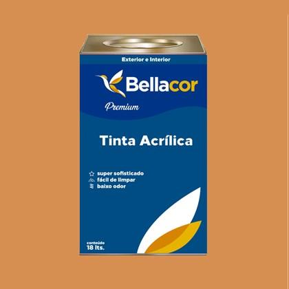 Tinta Acrílica Semi-Brilho Premium B101 Bronze 16L Bellacor
