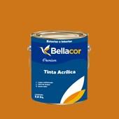 Tinta Acrílica Semi-Brilho Premium B41 Dourado 3,2L Bellacor