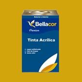 Tinta Acrílica Semi-Brilho Premium B52 Amarelo Dourado 16L Bellacor