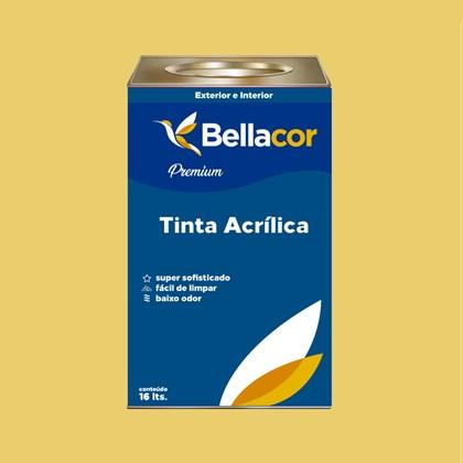 Tinta Acrílica Semi-Brilho Premium B78 Deserto 16L Bellacor