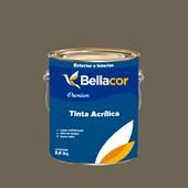 Tinta Acrílica Semi-Brilho Premium C106 Ganache 3,2L Bellacor