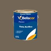 Tinta Acrílica Semi-Brilho Premium C108 Cinza Tabapuã 3,2L Bellacor