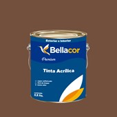 Tinta Acrílica Semi-Brilho Premium C111 Chilli 3,2L Bellacor