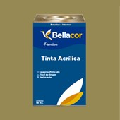 Tinta Acrílica Semi-Brilho Premium C31 Verde Oliva 16L Bellacor