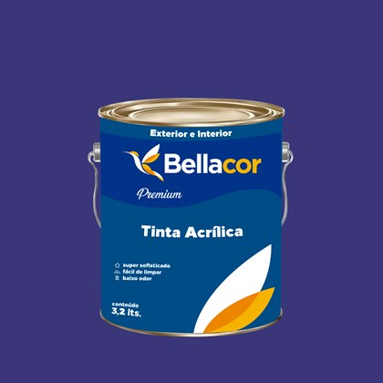 Tinta Acrílica Semi-Brilho Premium C34 Cruzeiro do Sul 3,2L Bellacor