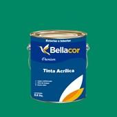Tinta Acrílica Semi-Brilho Premium C44 Verde Irlandês 3,2L Bellacor