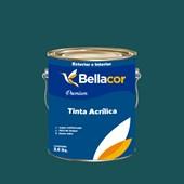 Tinta Acrílica Semi-Brilho Premium C47 Azul Pernambuco 3,2L Bellacor