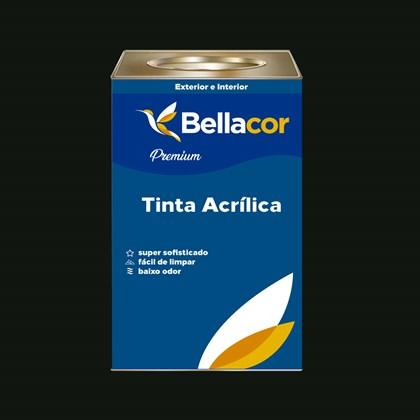 Tinta Acrílica Semi-Brilho Premium C67 Verde Escuro 16L Bellacor