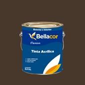 Tinta Acrílica Semi-Brilho Premium C97 Marrom Contemporânea 3,2L Bellacor