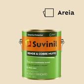 Tinta Acrílica Standard Fosco Rende e Cobre Muito Areia 3,6L Suvinil