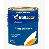 Tinta Acrílico Acentinada Branco 3,6L Premium Bellacor