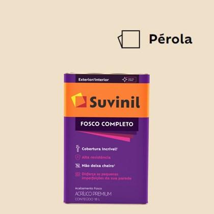 Tinta Acrílico Fosco Completo Pérola 18L Suvinil