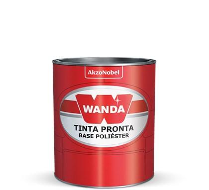 TINTA AUTOMOTIVA BASE POLIÉSTER BRANCO REGENTE/POLAR TOY 16 - 900ML WANDA