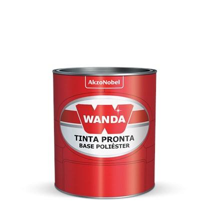 TINTA AUTOMOTIVA BASE POLIÉSTER PRATA LIGHT VW 04 - 900ML WANDA