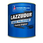 TINTA AUTOMOTIVA BASE POLIÉSTER PRETO EBONY FORD 98 - 900ML LAZZURIL