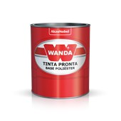 Tinta Automotiva PU Branco Banchisa Fiat96 900ml - Wanda