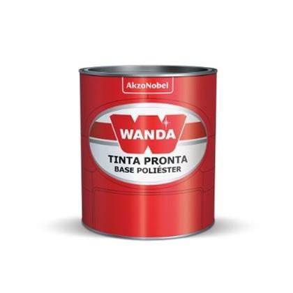 Tinta Automotiva Pu Branco Geada VW95 900ml - Wanda