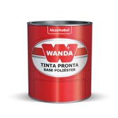 Tinta Base PU Amarelo Oxido 900ml - Wanda