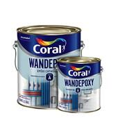Tinta Coral Epóxi Brilhante Wandepoxy Branco Parte A - 2,7L