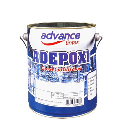 TINTA EPÓXI ADEPOXI 96 PRETO - PARTE A 3,6L ADVANCE