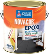 TINTA EPOXI BASE ÁGUA NOVACOR BRANCO - 3,2L SHERWIN WILLIAMS
