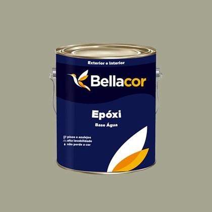 Tinta Epóxi Brilhante 3,2L C105 Cinza Base Água Bellacor