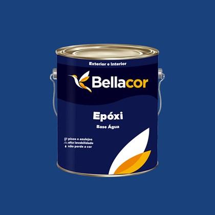 Tinta Epóxi Brilhante 3,2L C12 Azul Escuro Base Água Bellacor