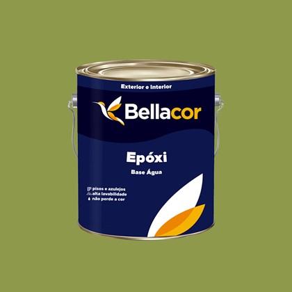 Tinta Epóxi Brilhante 3,2L C19 Folha Base Água Bellacor