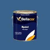 Tinta Epóxi Brilhante 3,2L C24 Ciano Base Água Bellacor