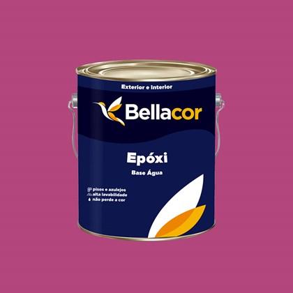 Tinta Epóxi Brilhante 3,2L C63 Geleia de Amora  Base Água Bellacor