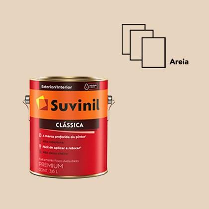 TINTA FOSCA CLÁSSICA AREIA PREMIUM - 3,6L SUVINIL